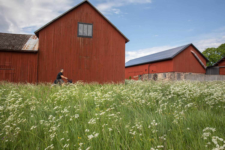 Biking Dalarna - a collaboration between several different regions