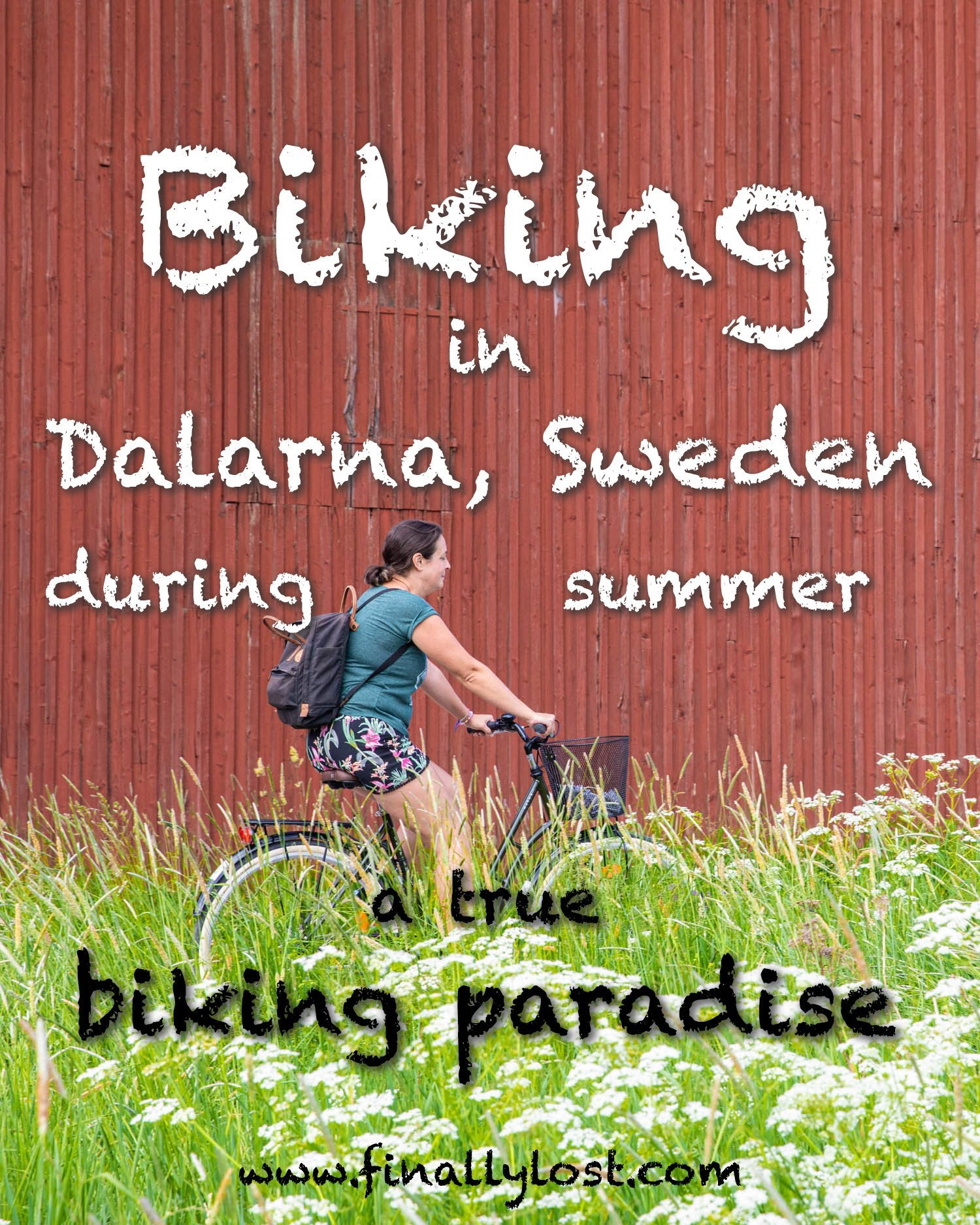 Biking in Dalarna - Sweden