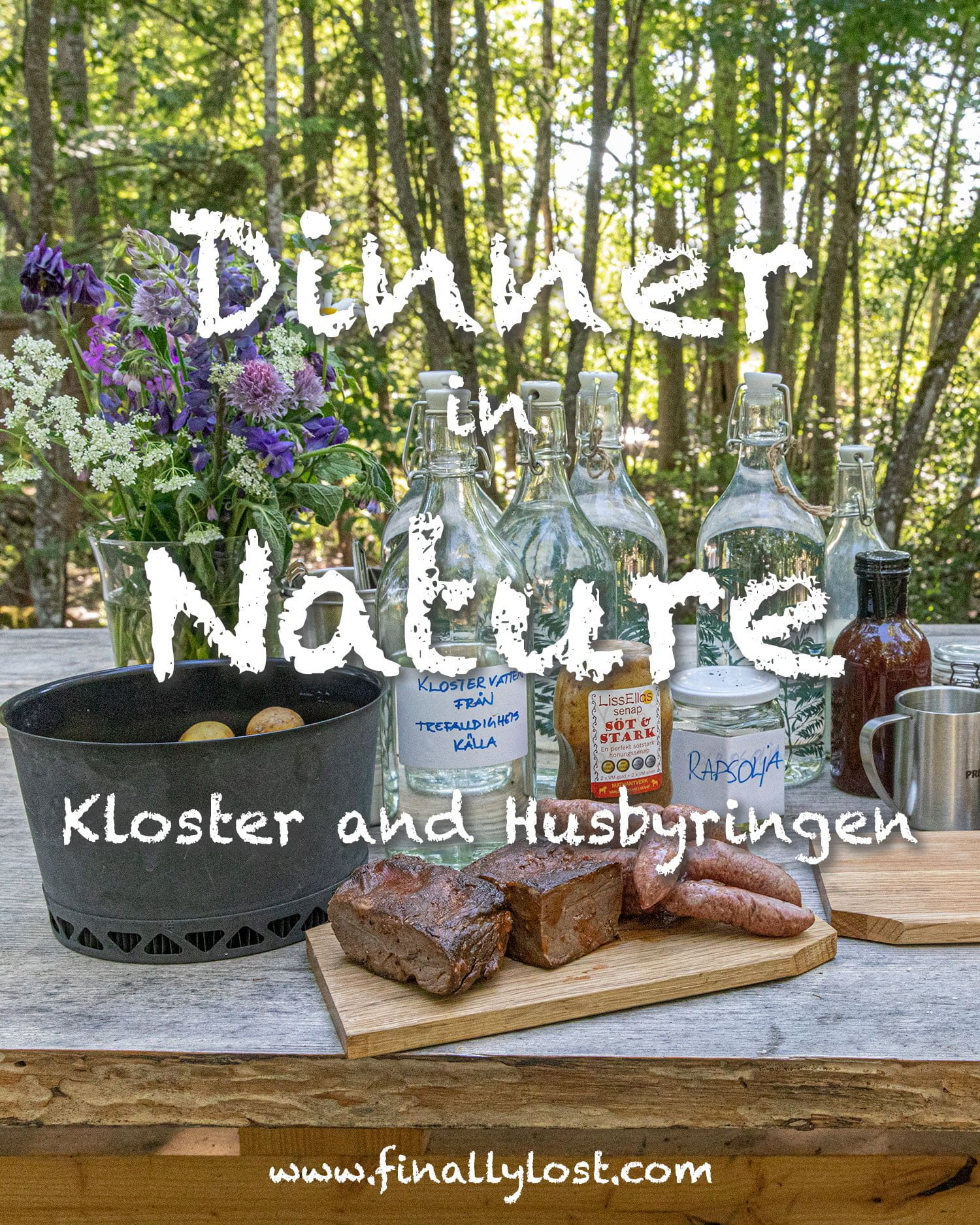Dinner in Nature - The Edible Country - Taste of Dalarna