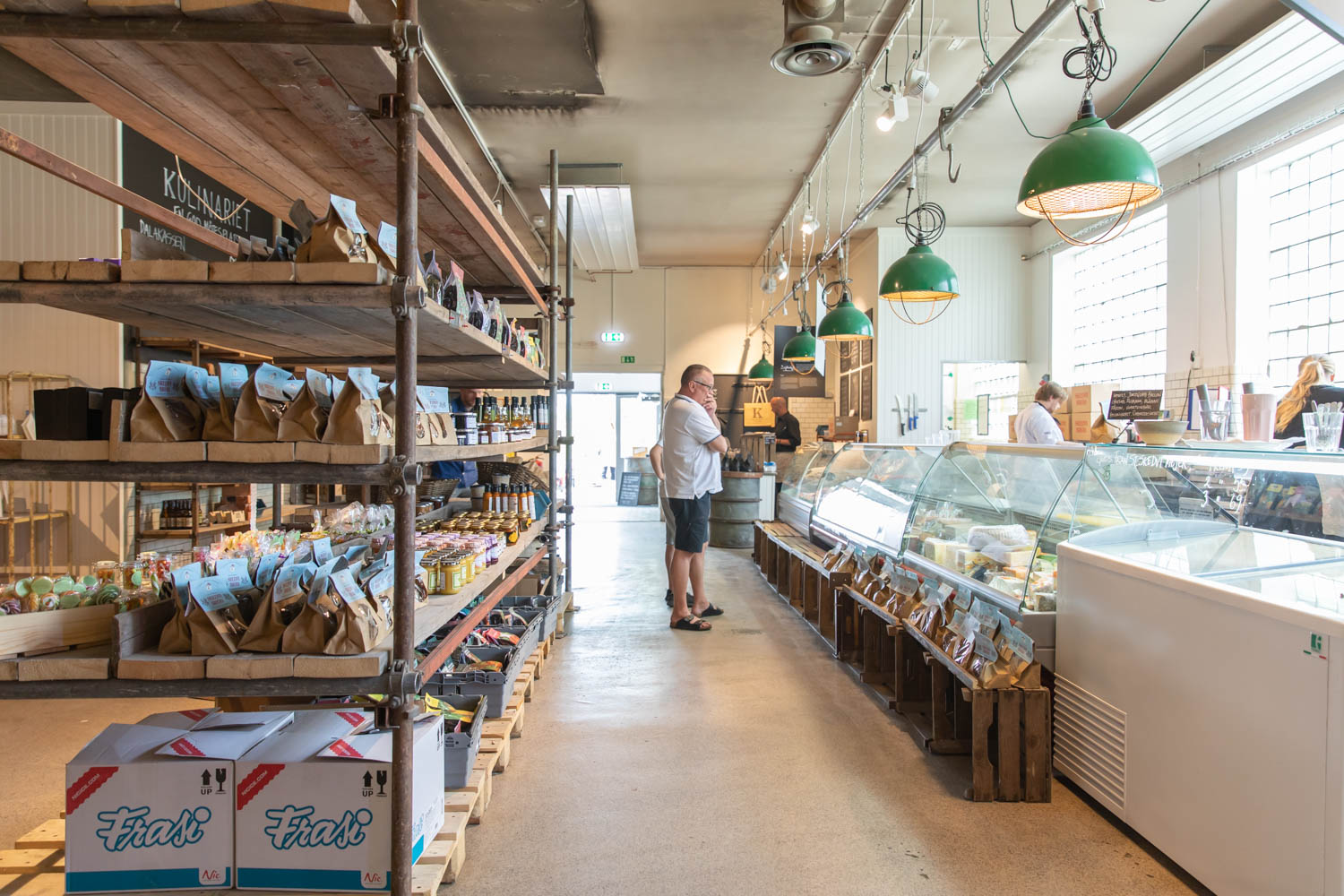 Visthusboden - A covered market with delicacies