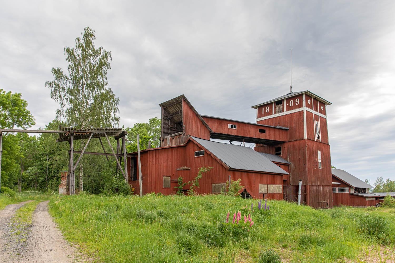 Silverringen - Bispbergs gruva - Bispbergs mine