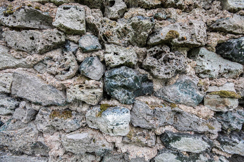 Slag as building material - Silvbergs Kyrka - Silverg Church