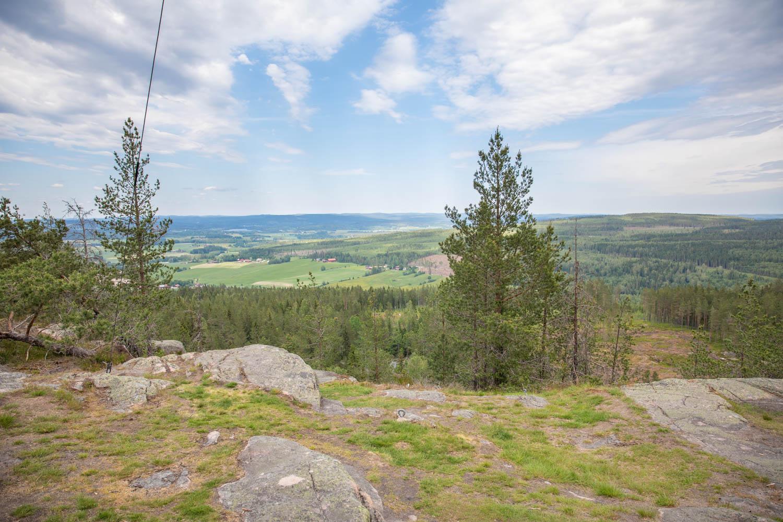 Bispbergs Klack - A nice lookout point