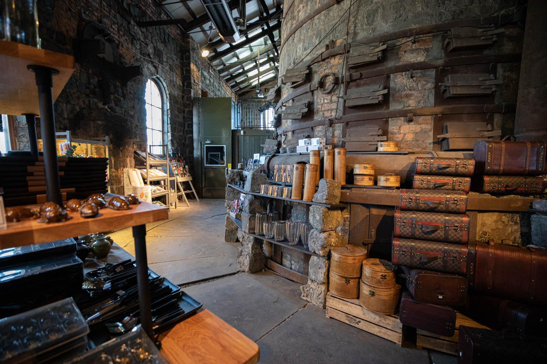 An amazing gift shop at Verket in Avesta