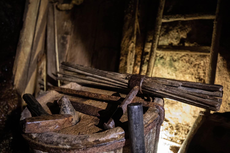 Tools from Falu Mine