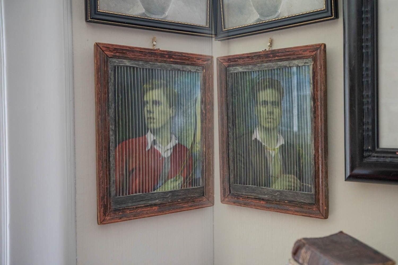 The artwork at Hildasholm