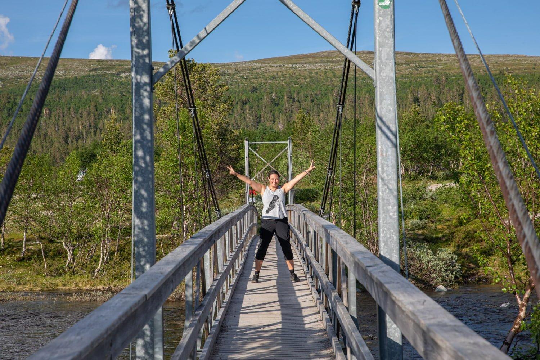 Grovelsjon hiking Silverfallet, Sweden