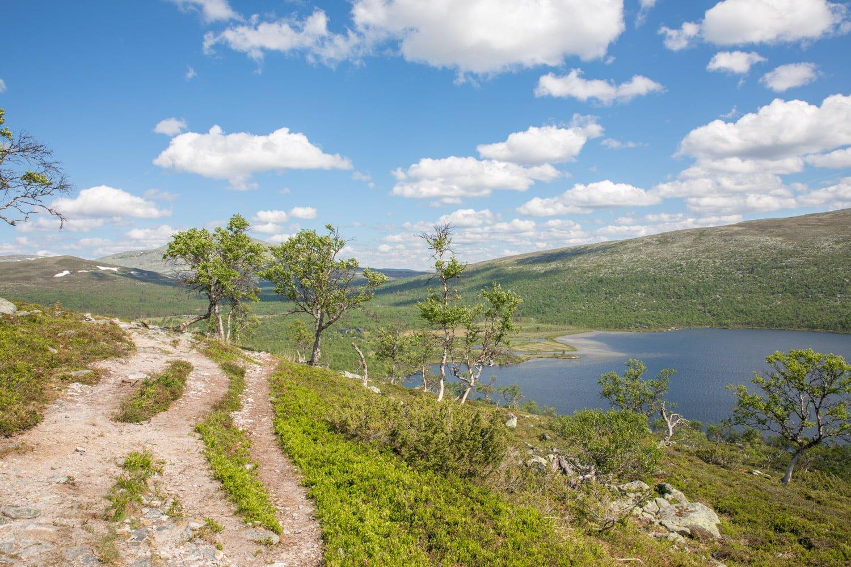 Hiking Sylen at Grovelsjon, Sweden