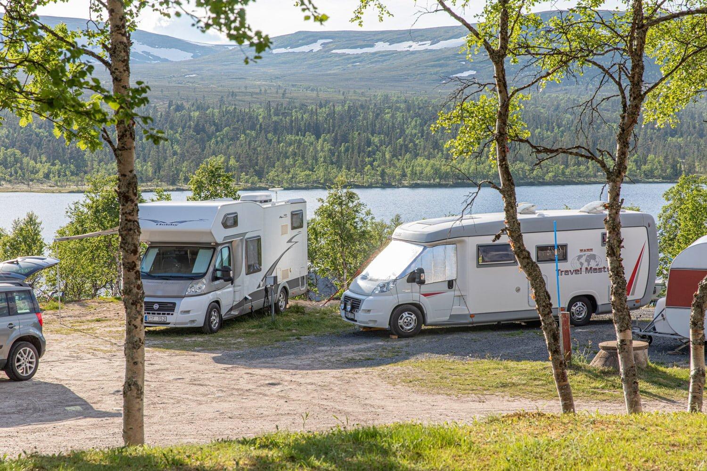 Grovelsjon - Camping, Sweden