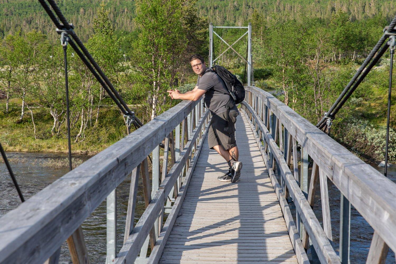 The bridge over Grovlan, Dalarna - Sweden