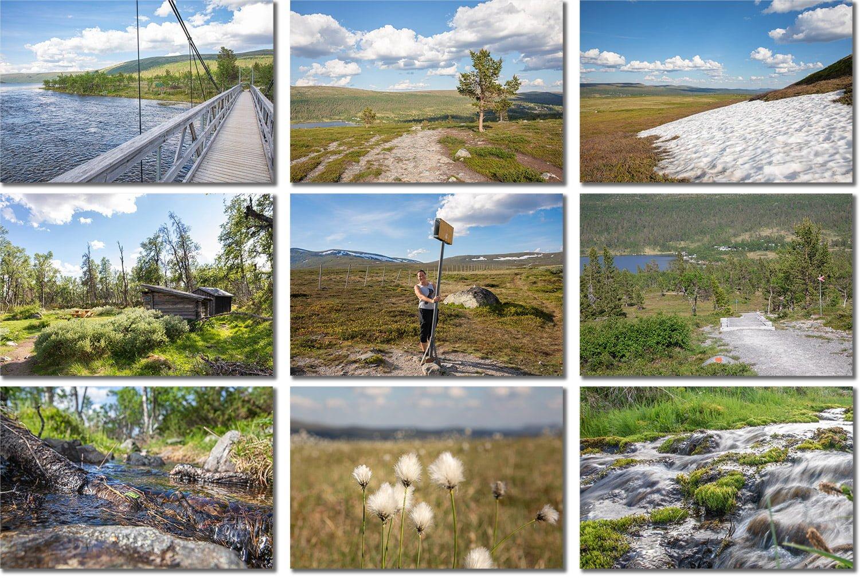 Silverfallet-Grövelsjön-Dalarna-Sweden Collage
