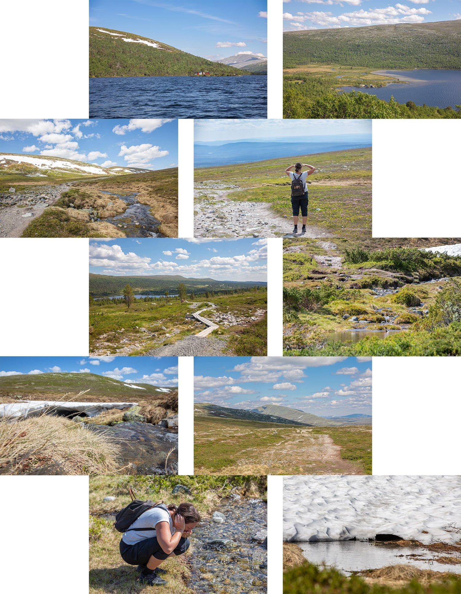 Sylen-Dalarna-Sweden Collage