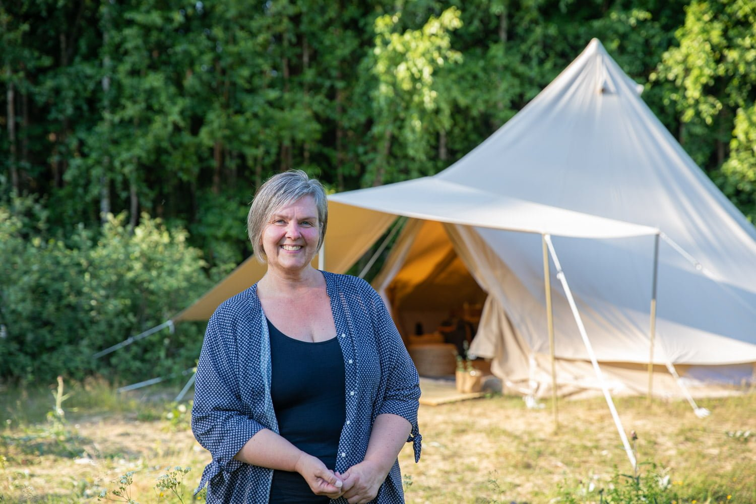 Information about Glamping in Dalarna
