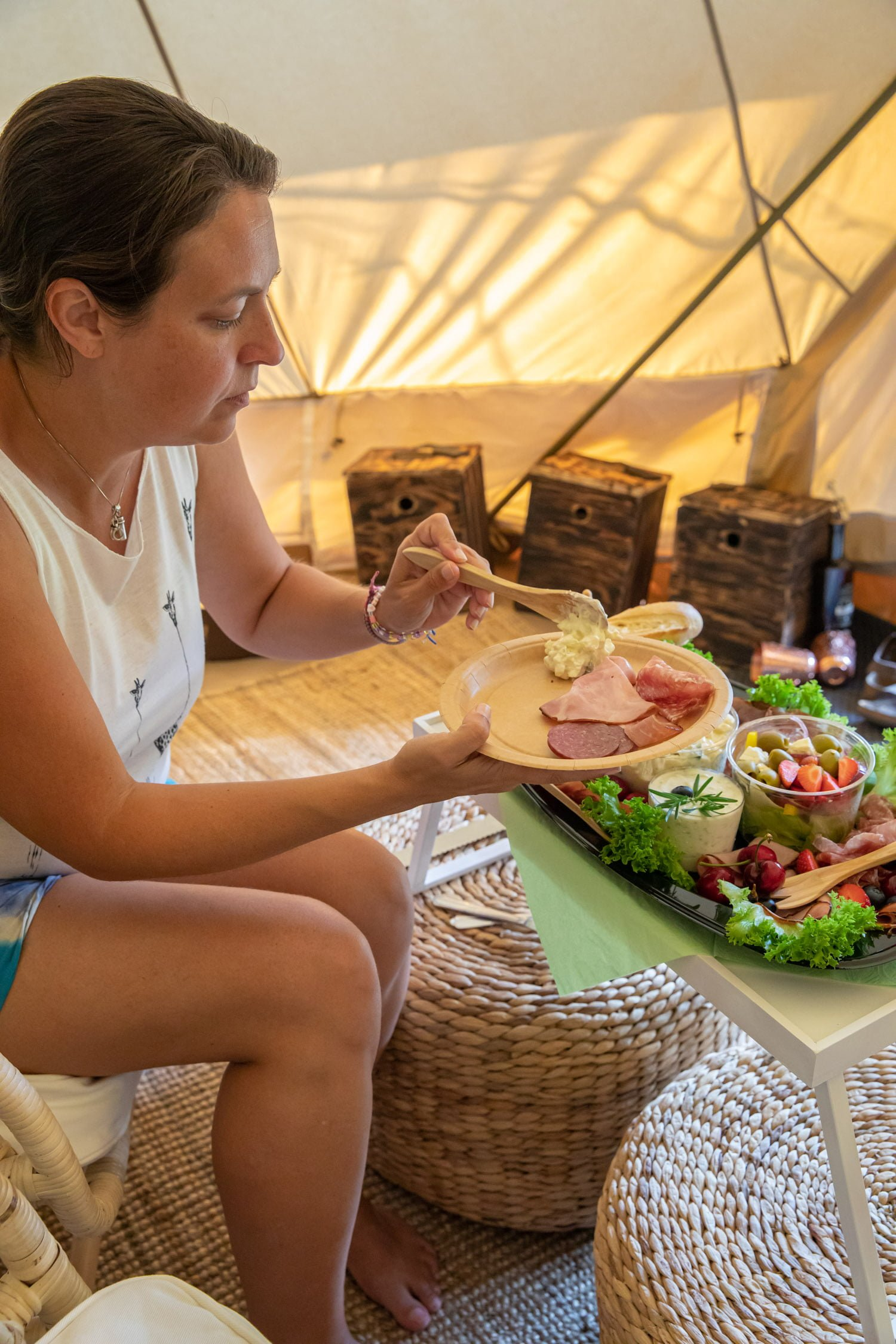 Our experience of Glamping in Dalarna