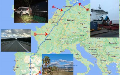 Driving through Europe – We have left Sweden