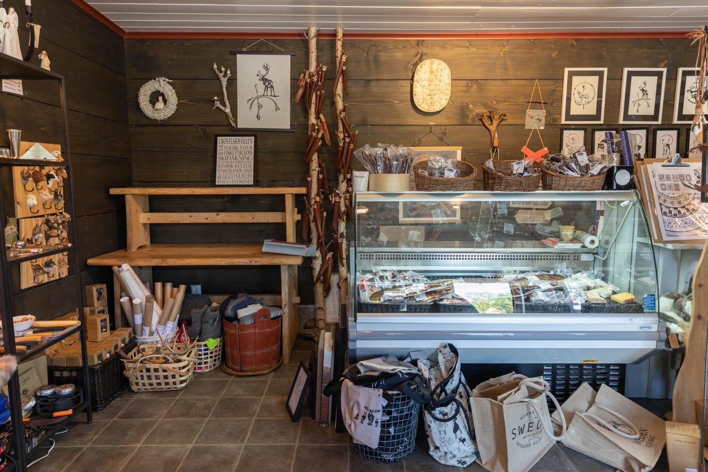 Gift shop at renbiten - Dalarna - Sweden