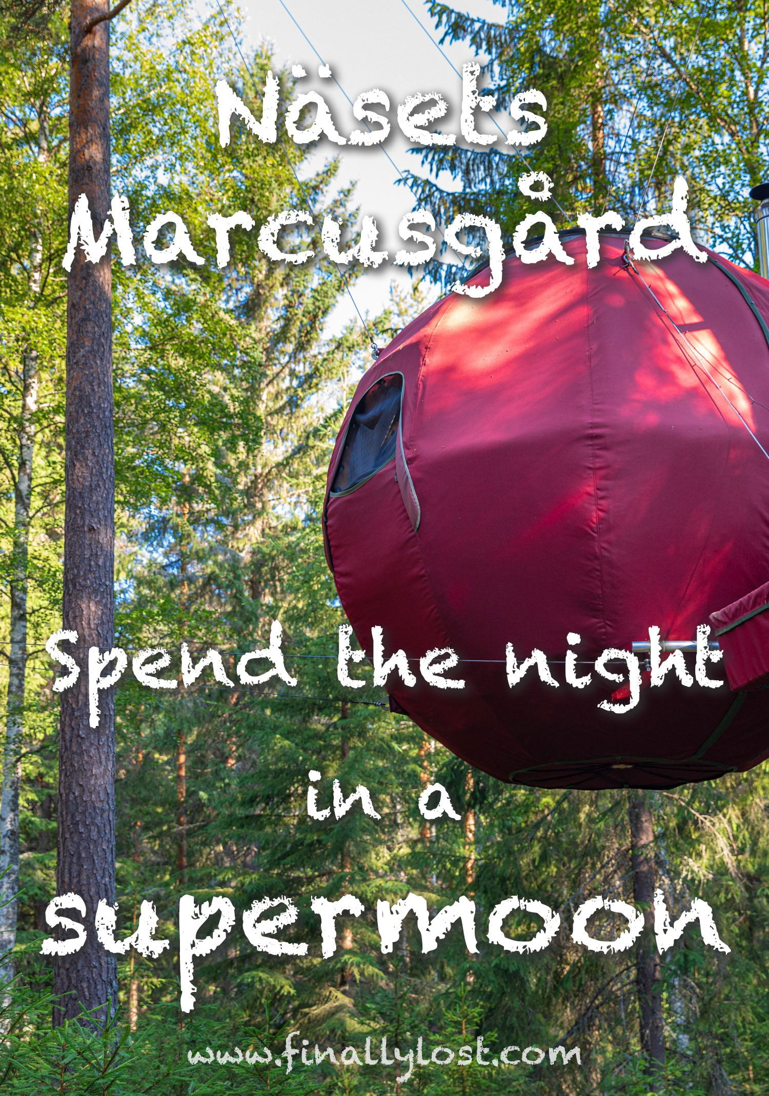 Nasets Marcusgard - Spend the night in a supermoon