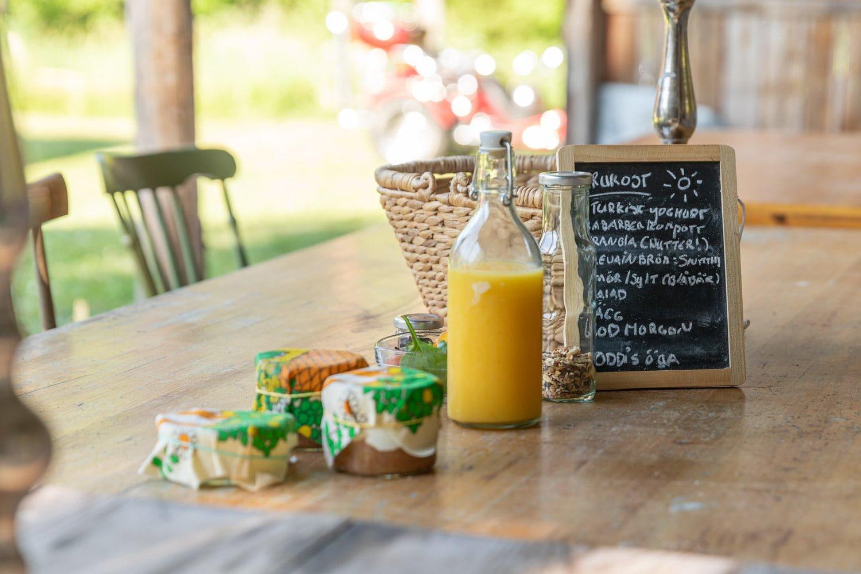 The breakfast at Nasets Marcusgard