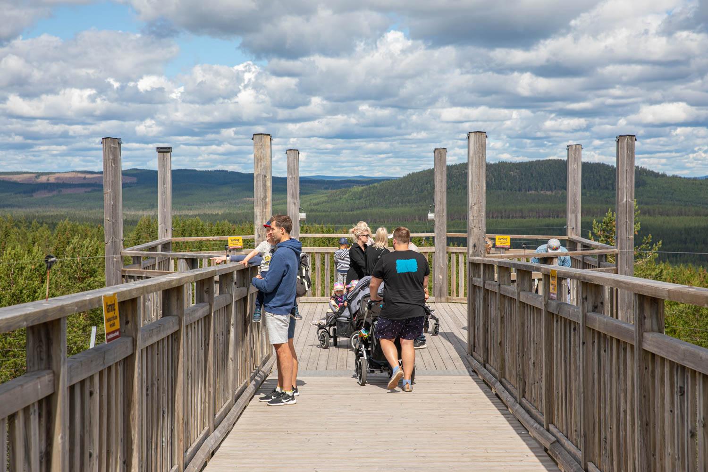 Orsa Rovdjurspark is part of Orsa Gronklitt