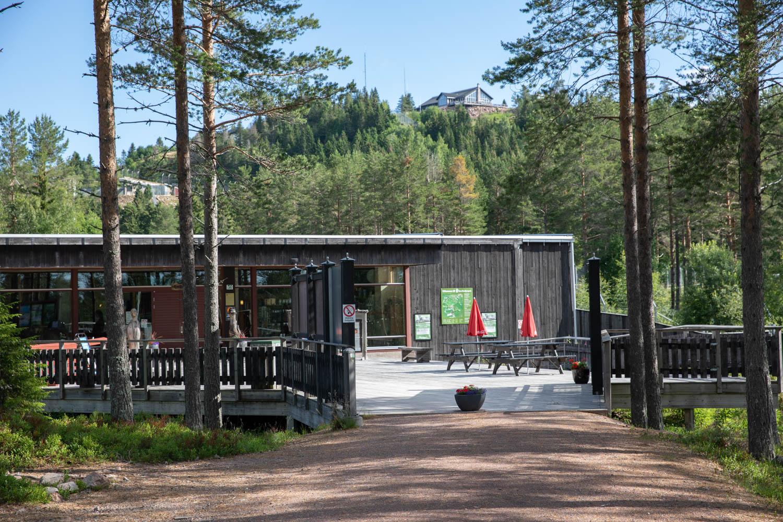 Entrance at Orsa rovdjurspark