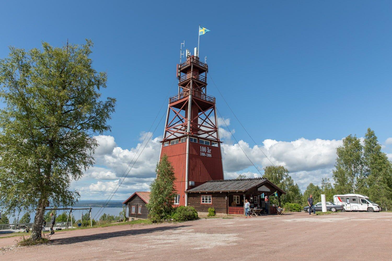 Vidablick - Road trip along lake Siljan by motorhome
