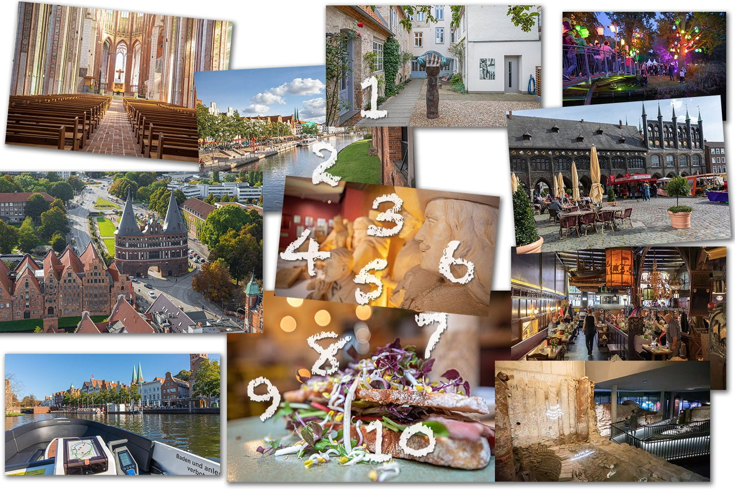 To do in Lubeck collage