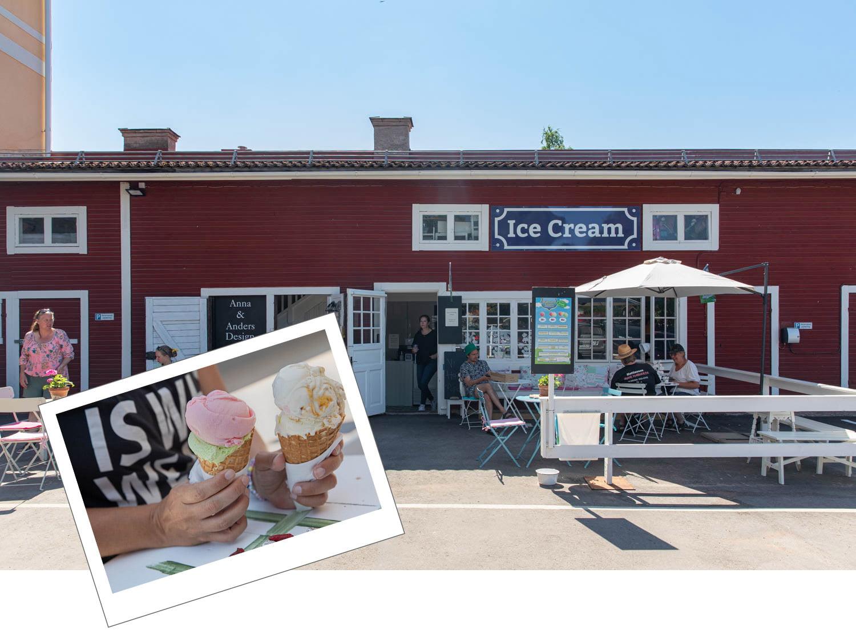 Mora Icecream Rättviksglass