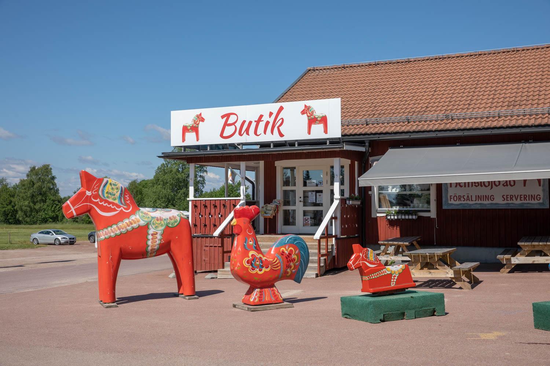 Dala horses in Nusnäs