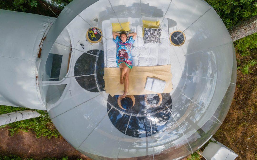 Sleep in a bubble in Dalarna, Sweden – A unique and odd Hotel