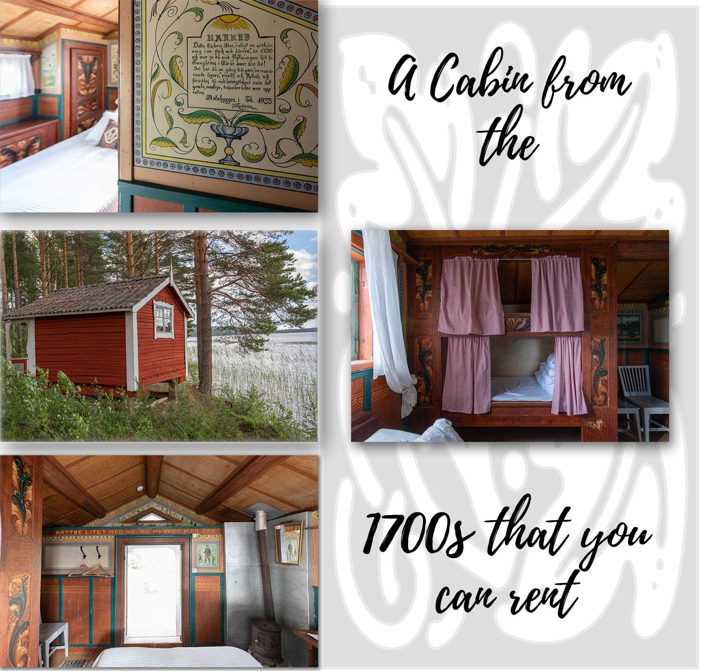 Old cabin in Leksand - Dalarna