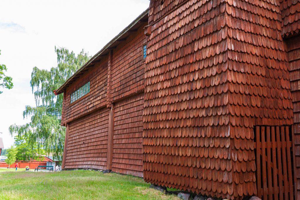 Ornässtugan Building with scales - Sweden