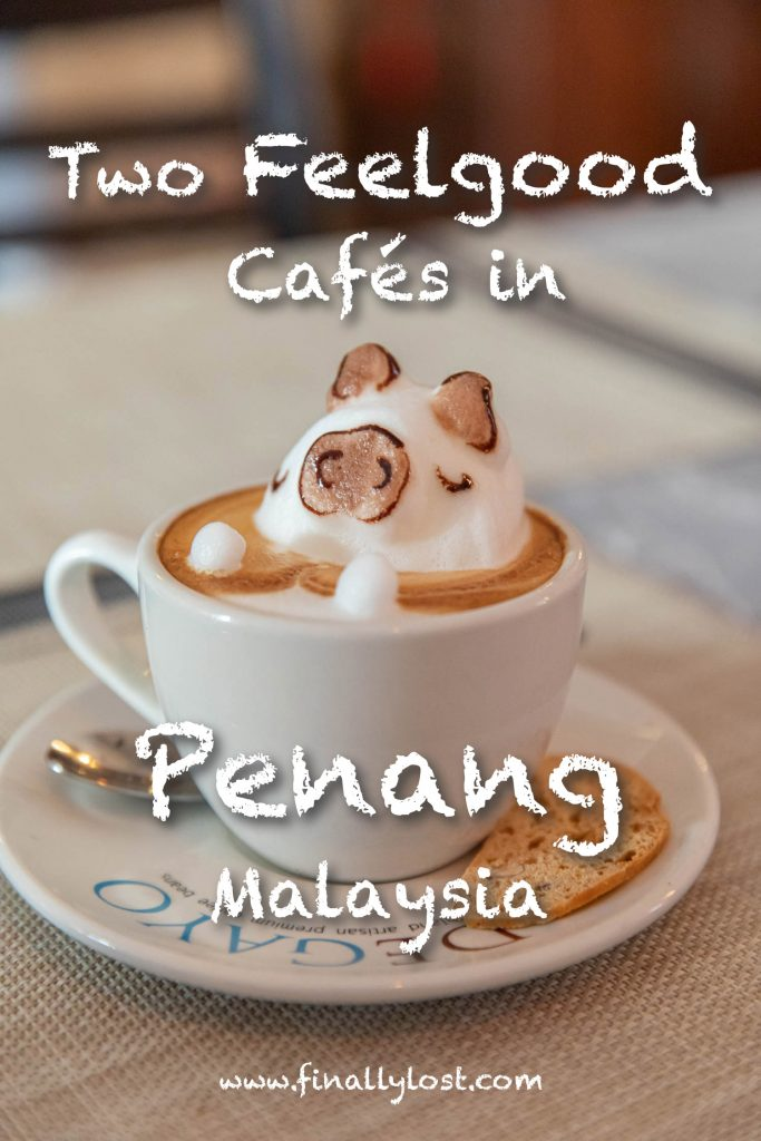 Two cafes in Penang