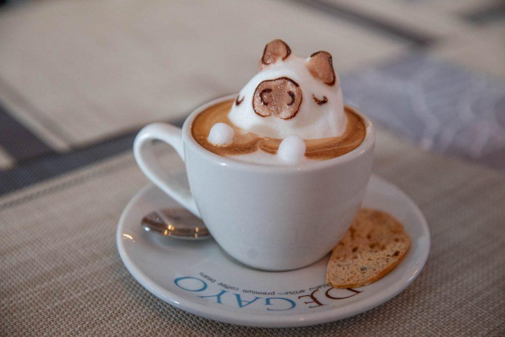 3D art coffee